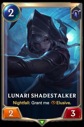 Lunari Shadestalker Card Image