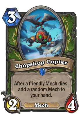 Chopshop Copter Card Image