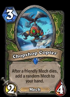 Chopshop Copter Card Image