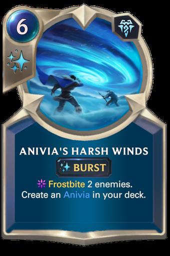Anivia's Harsh Winds Card Image