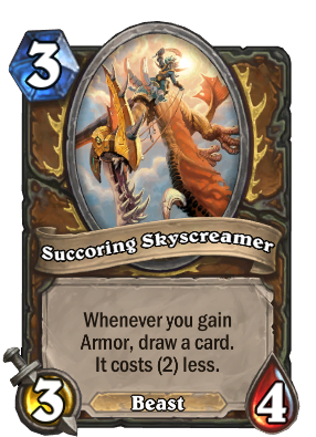 Succoring Skyscreamer Card Image