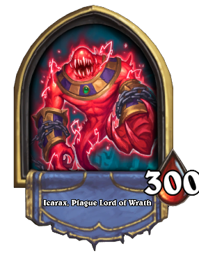Icarax, Plague Lord of Wrath Card Image
