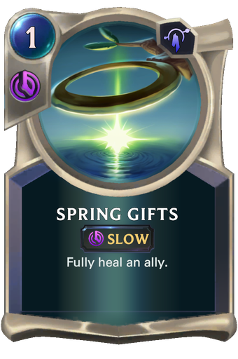 Spring Gifts Card Image