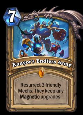 Kangor's Endless Army Card Image