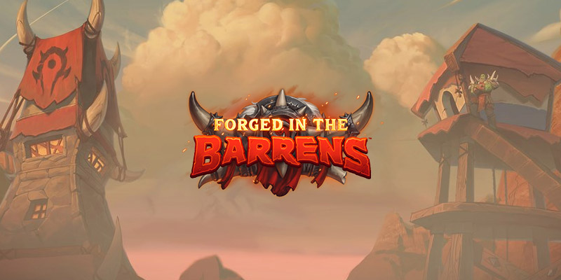 Hearthstone's Forged in the Barrens Mini Set Releases on June 3! Card Reveals Begin Tomorrow!