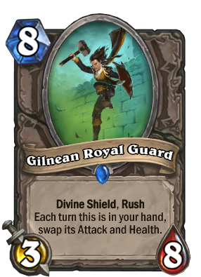 Gilnean Royal Guard Card Image