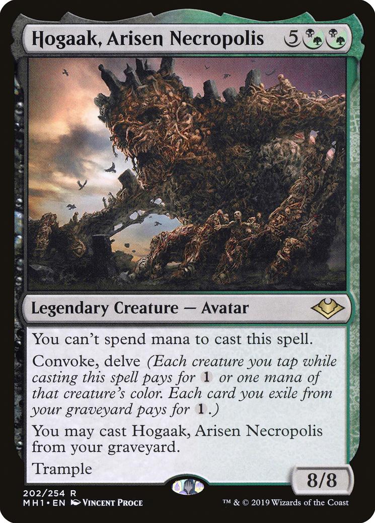 Hogaak, Arisen Necropolis Card Image