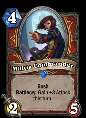 Militia Commander Card Image