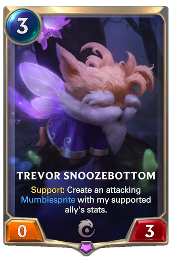 Trevor Snoozebottom Card Image