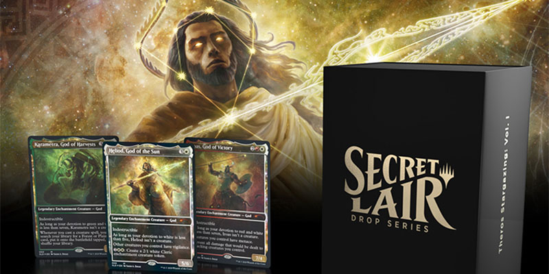 Magic's Secret Lair Returns this Weekend to Celebrate the Gods of Theros and the Magic World Championship