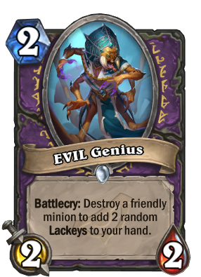EVIL Genius Card Image