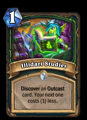 Illidari Studies Card Image