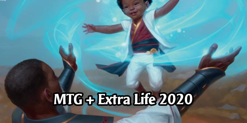 Magic the Gathering Supports Extra Life With a New Secret Lair, Playmats, Uncut Sheets, and More!