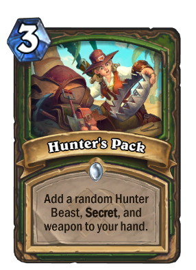 Hunter's Pack Card Image