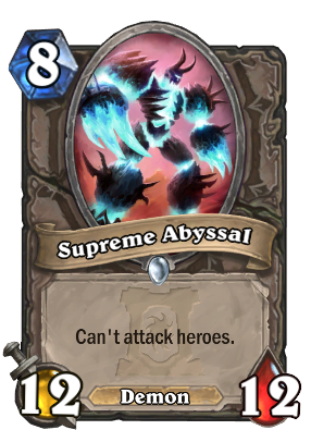 Supreme Abyssal Card Image
