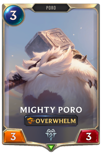 Mighty Poro Card Image