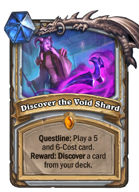 Discover the Void Shard Card Image