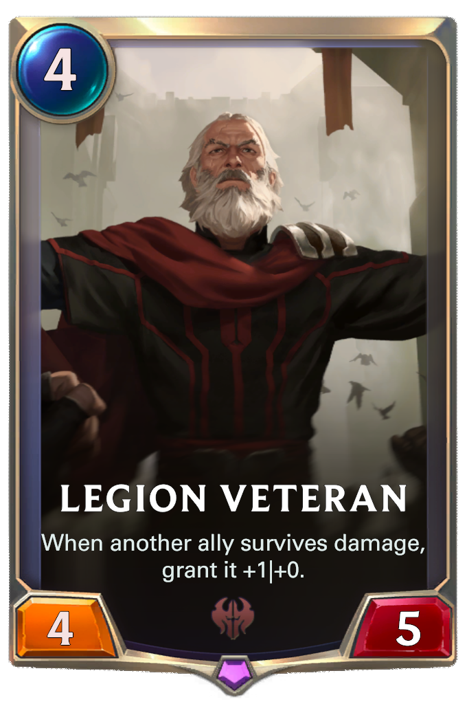 Legion Veteran Card Image