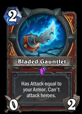 Bladed Gauntlet Card Image