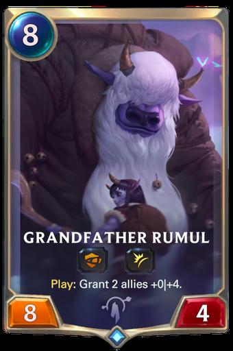 Grandfather Rumul Card Image