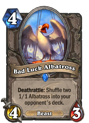 Bad Luck Albatross Card Image