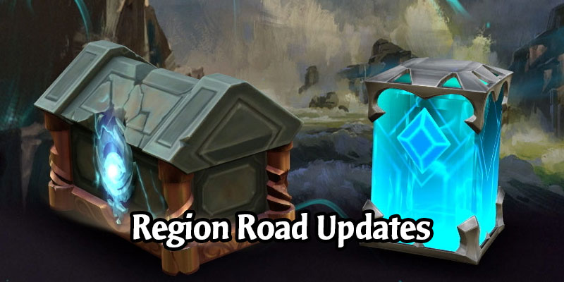 Shadow Isles, Ionia, and Freljord are Receiving Region Road Extensions in Call of the Mountain