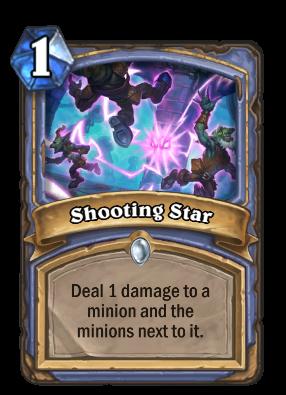 Shooting Star Card Image