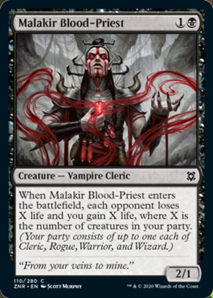 Malakir Blood-Priest Card Image