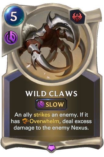 Wild Claws Card Image