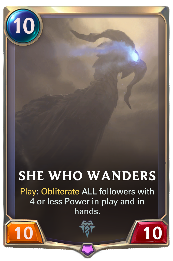 She Who Wanders Card Image