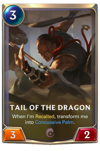 Tail of the Dragon Card Image