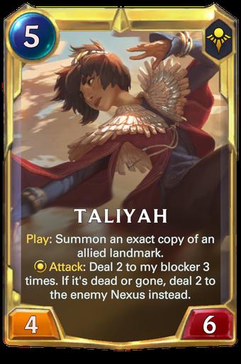 Taliyah Card Image