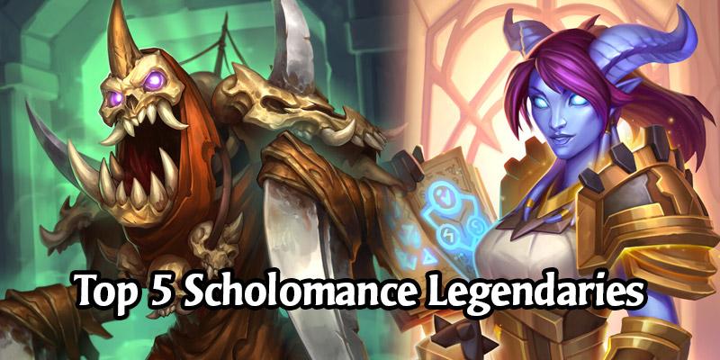 The Top 5 Most Popular Legendaries in Scholomance Academy - Are We Even Surprised?