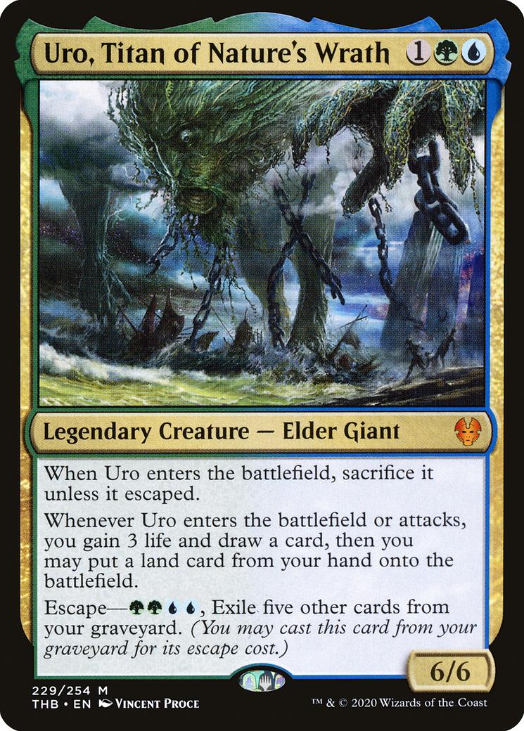 Uro, Titan of Nature's Wrath Card Image