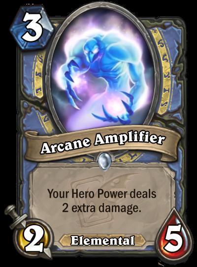 Arcane Amplifier Card Image