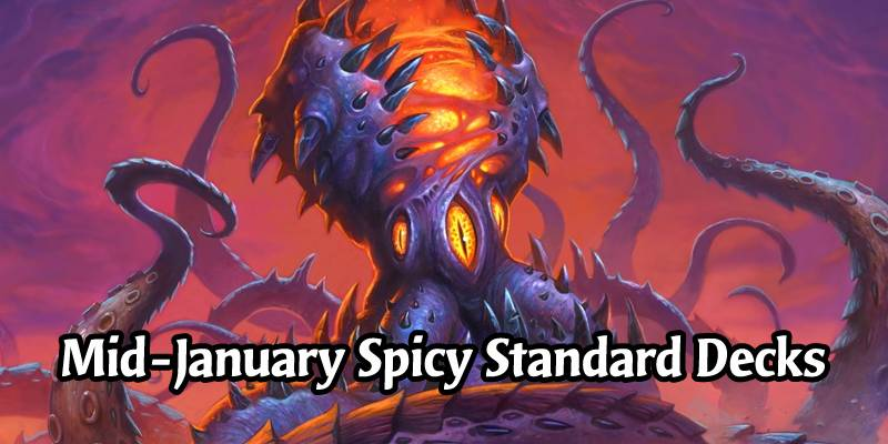 8 Spicy Standard Hearthstone Decks While We Wait For the Darkmoon Faire Mini Set to Arrive