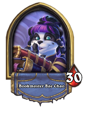 Bookmaster Bae Chao Card Image