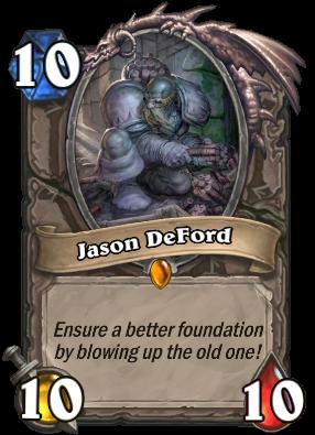 Jason DeFord Card Image