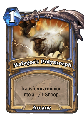 Malygos's Polymorph Card Image