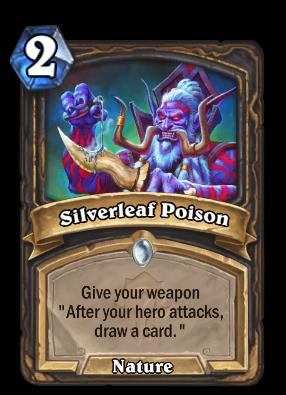 Silverleaf Poison Card Image