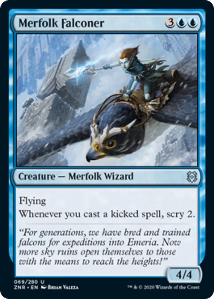Merfolk Falconer Card Image
