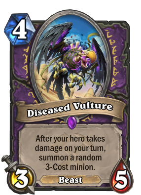 Diseased Vulture Card Image