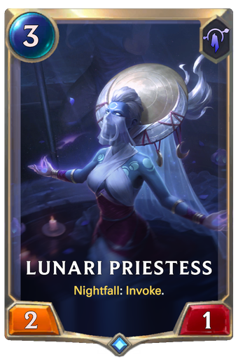 Lunari Priestess Card Image