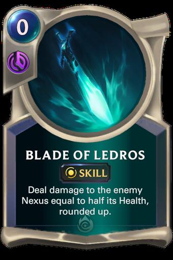 Blade of Ledros Card Image