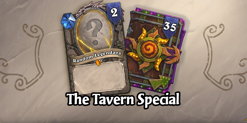 A New Hearthstone Card Pack Bundle Has Arrived, And It's Different For Everyone - Tavern Special