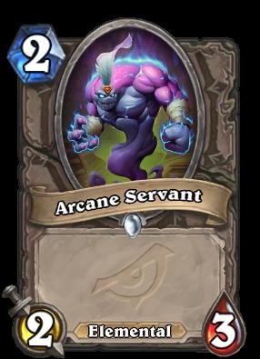 Arcane Servant Card Image