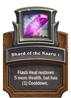 Shard of the Naaru 1 Card Image