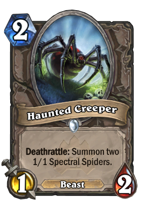 Haunted Creeper Card Image