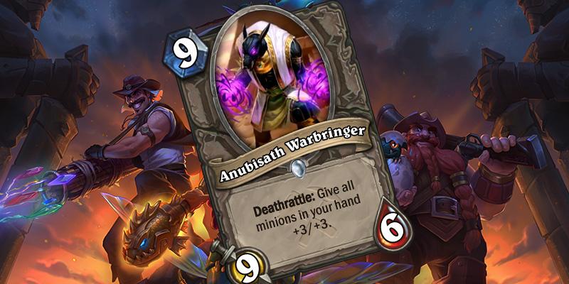 Uldum Card Reveal - Anubisath Warbringer