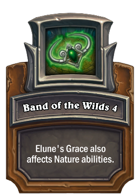 Band of the Wilds 4 Card Image